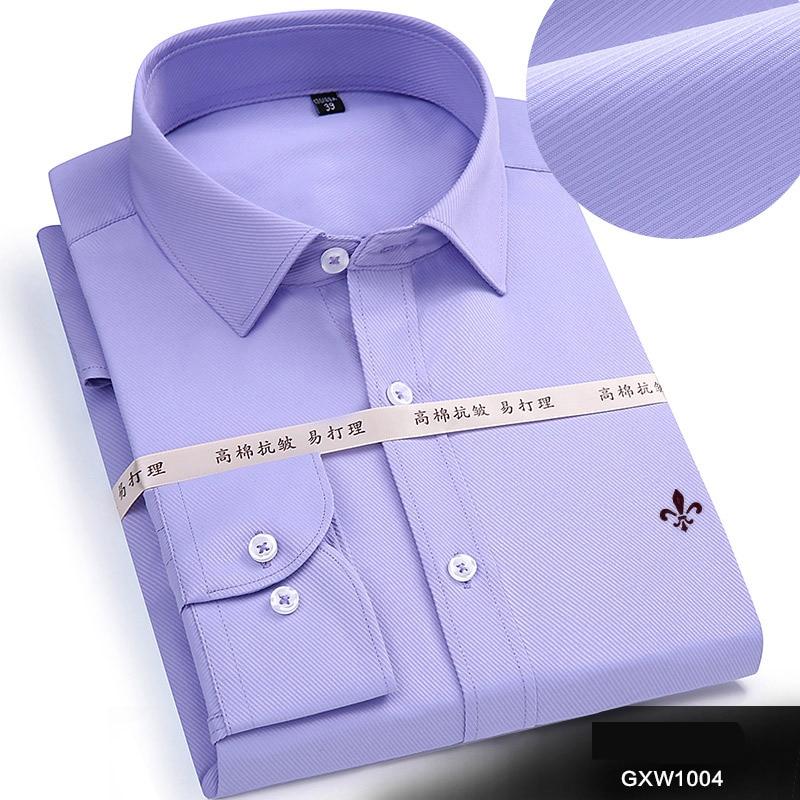 Dudalina 2020 Brand Men Shirt Male Dress Shirts Men's Fashion Casual Long Sleeve Business Formal Shirt Camisa Social Masculina 5