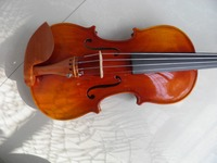 high grade full wood violin with case and bow