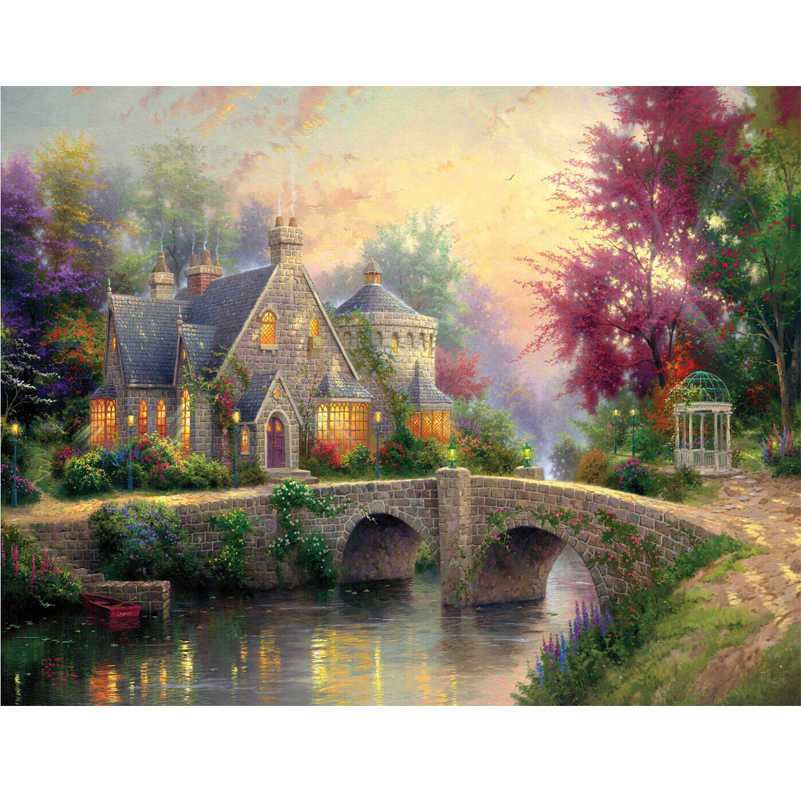 Many Designer Thomas Oil Painting Home Decoration Paintings Wall Art Bedroom Living Room Canvas Painting Unframed