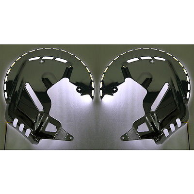 Здесь продается  Chrome Brake Disc Rotors Covers With LED For Honda GOLDWING GL1800 01-14 F6B 13-15  Автомобили и Мотоциклы