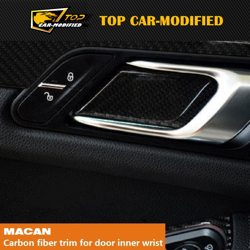 Aliexpress.com : Buy Free Shipping TOP CAR MODIFIED CARBON FIBER INNER DOOR  HANDLE TRIM FOR PORSCHE MACAN From Reliable Macan Carbon Suppliers On TOP  ...