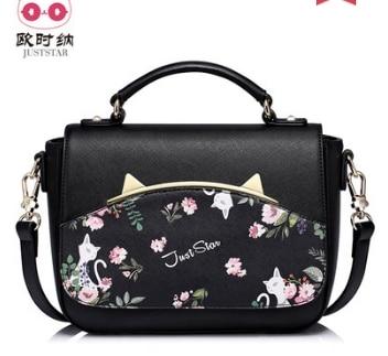 Princess sweet lolita bag Summer Korean print personality fashion handbag all match and casual shoulder bag women 170982 crop racer cami top