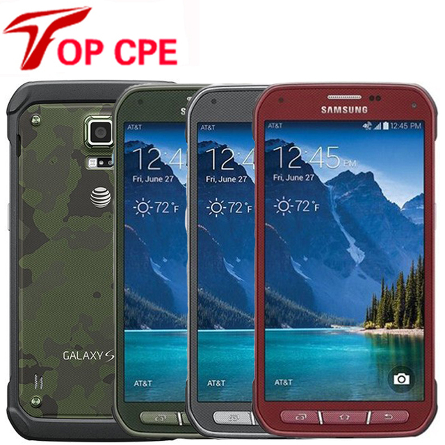 Aliexpress com : Buy Original Samsung Galaxy S5 Active G870 Smartphone 5 1  Inches Touchscreen 16 MP Android Refurbished Cellphone 16GB ROM Free Ship
