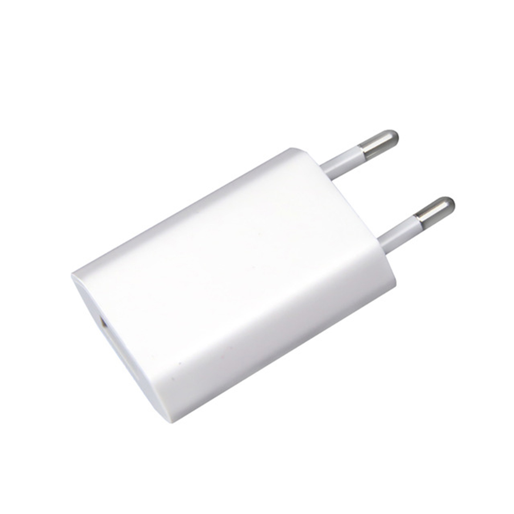 все цены на Apple USB Charger EU Plug Converter AC/DC 5W A1400 Wall Charger European Plug Adapter for iPad, iPhone 5/6/6s/7 (Simple Package) онлайн