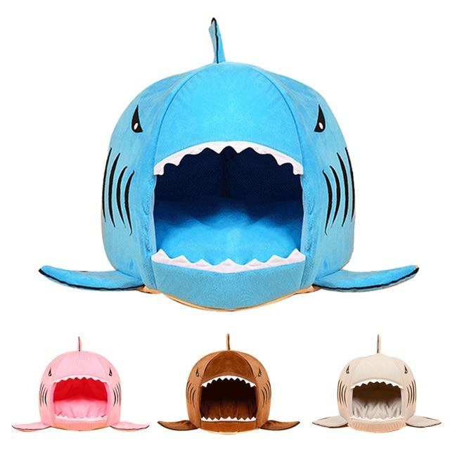 Shark Pillow Sleeping Bag aliexpress : buy 2017 warm soft dog bed house pet sleeping bag