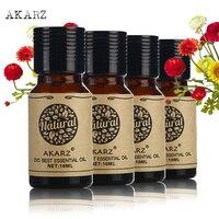 Famous Brand AKARZ Pure Cherry Blossom Rose Geranium Jasmine Essential Oil Essential Oils Aromatherapy Massage Spa