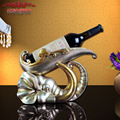 2016 New Arrival New Home Decoration Accessories Style Restaurant Wine Frame Elephant Resin Ktv And Crafts Hotel