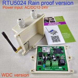 Image 2 - DcバージョンレインプルーフバージョンRTU5024 gsmゲート開閉式ワイヤレスリモートコントローラーgsmリレーリモートスイッチアクセス制御