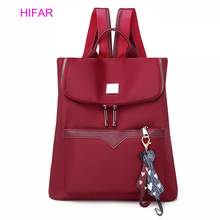 цена HIFAR 2019 Fashion Backpack Women Leisure Back Pack Korean Ladies Knapsack Casual Travel Bags for School Teenage Girls Bagpack