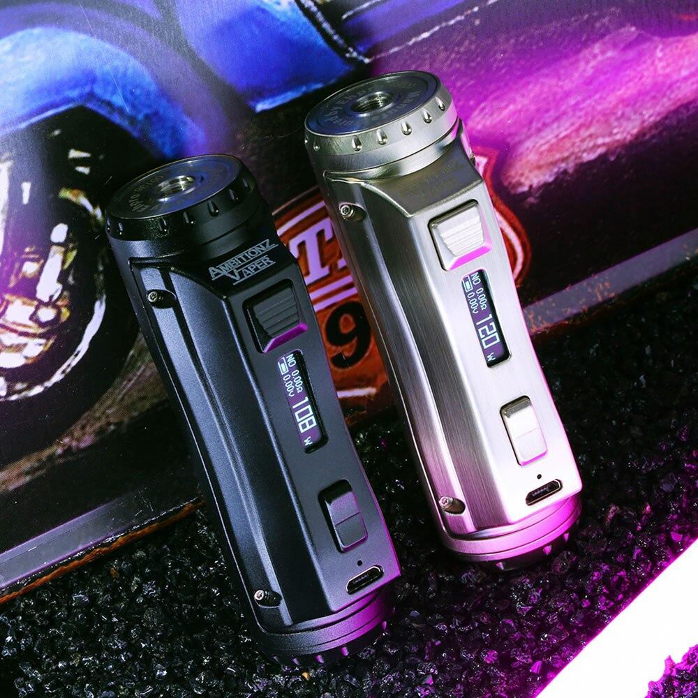 Neueste Ehpro Kalten Stahl 100 120W TC Box MOD mit 0,0018 S Ultra Brennen Geschwindigkeit Power durch 18650/ 20700/21700 batterie vs Drag 2 Mod-in Batterien für elektronische Zigaretten aus Verbraucherelektronik bei AliExpress - 11.11_Doppel-11Tag der Singles 1