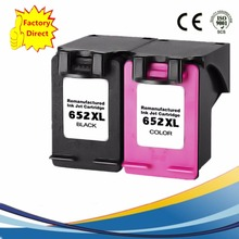 2 Pk 652 XL 652XL Ink Cartridges For HP HP652 Deskjet Advantage 1015 1515 2515 2545 2645 3515 3545 4515 4645 Inkjet Printer