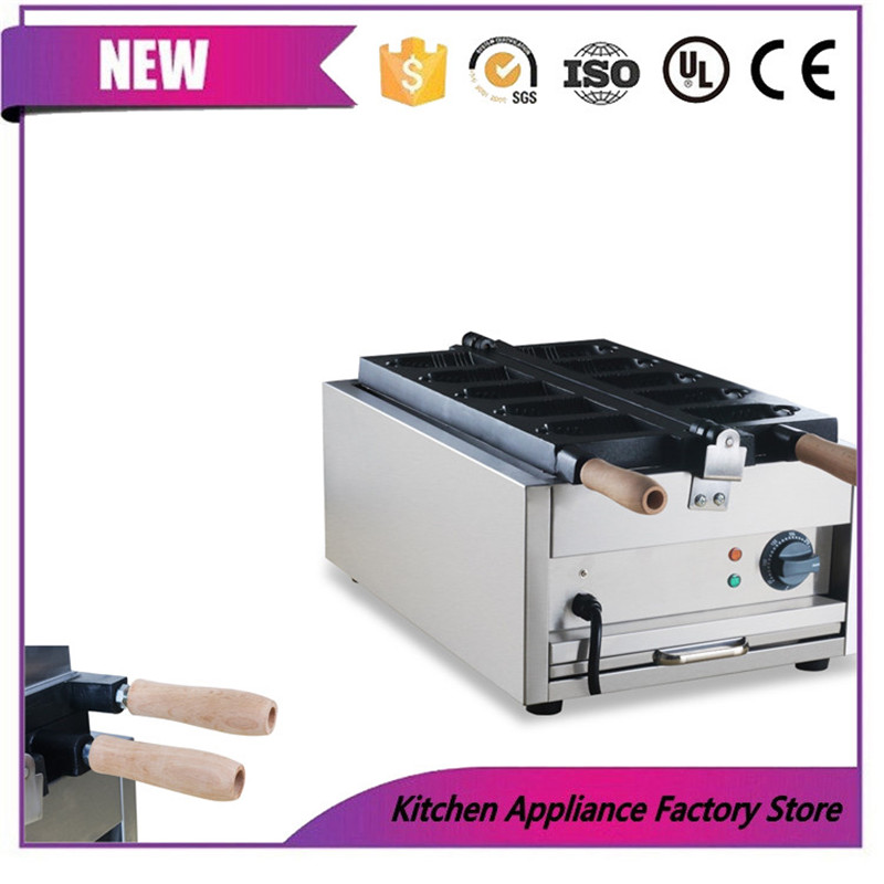 Free shipping by express 110V 220V ice cream Hanging bell machine Hanging bell waffle maker machine - 2