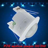 Yeni 110-240 v PIR Kızılötesi Hareket Sensörü Anahtarı, Insan Vücudu Indüksiyon Enerji Tasarrufu Hareket Otomatik Modülü Işık Senser anahtarı