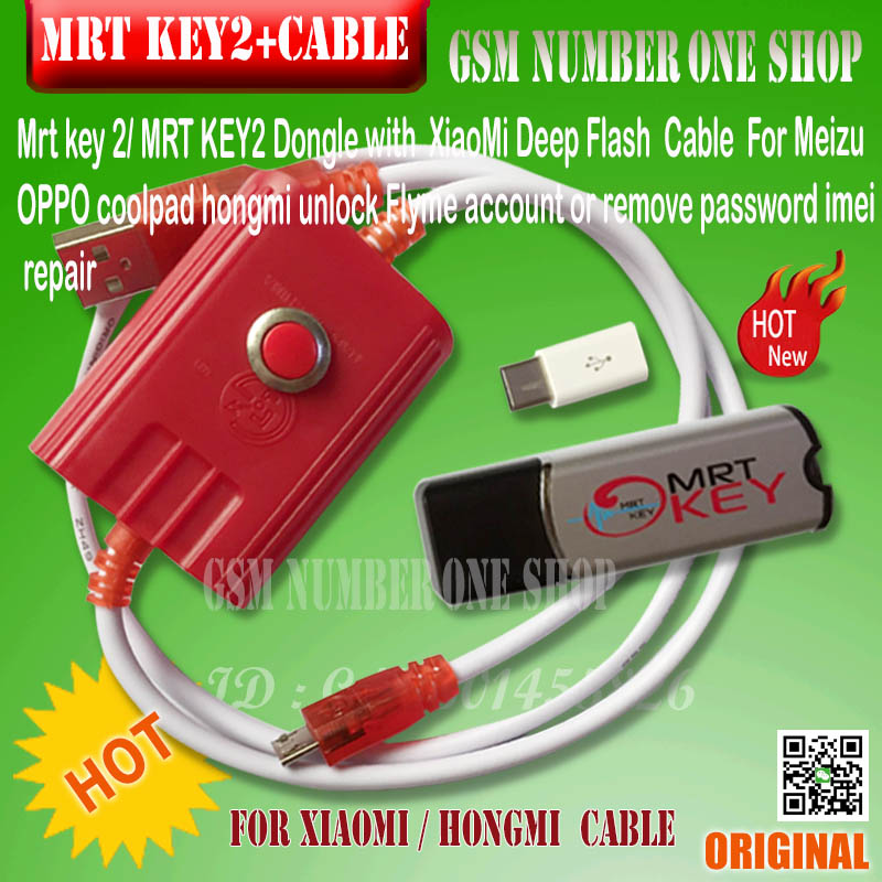 mrt key + xiaomi cable-unmber one - f