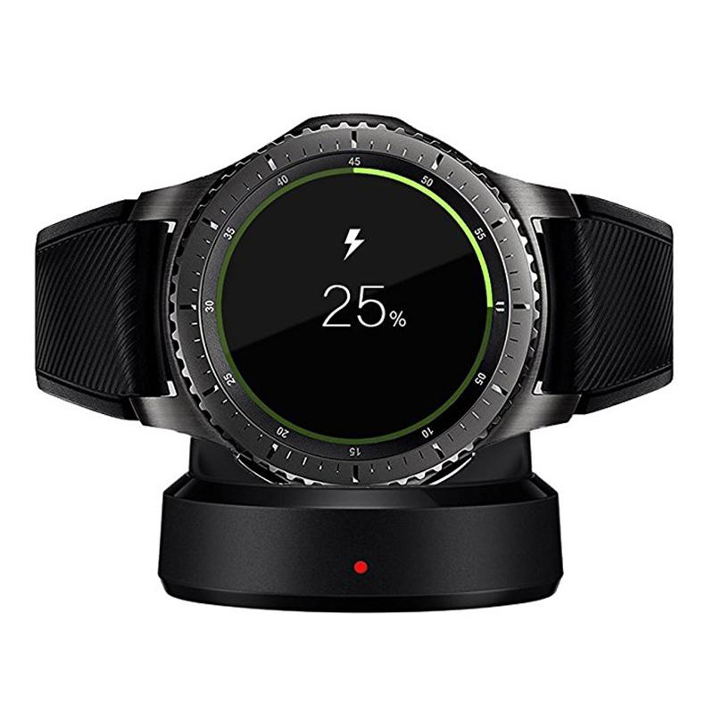 Yiwa Wireless Charger For Samsung Gear S3 S2 Smart Watch Charging Base Dock Smartwatch Battery Charger Supplies