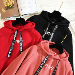 Arfreeker Casual Hoodies Women  Brand Long Sleeve Thick Warm Hooded Black Sweatshirt Hoodie Coat Casual Sportswear Pullovers 5