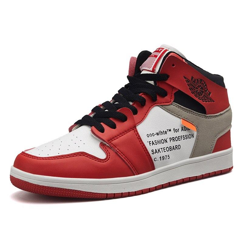 pretty nice e152c 9936e High-top Jordan zapatos de baloncesto para hombres mujeres de moda luz  zapatillas transpirable de