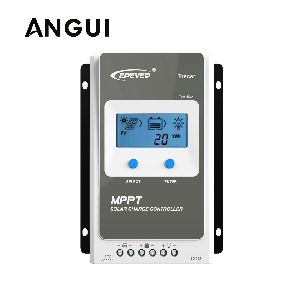 Tracer 1206AN 1210AN 2206AN 2210AN 3210AN 4210AN 10A 20A 30A 40A MPPT Solar Charge Controller 1210A 2210A 3210A 4210A LCD EPEVER-in Solar Accessories from Consumer Electronics    1