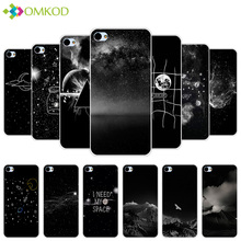 5.0' For Meizu U10 Fundas Black Back Matte Starry Cover For