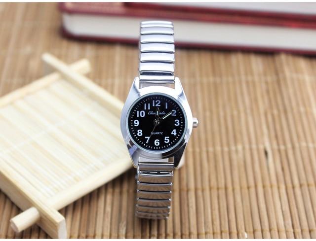 flexible stainless steel strap elastic interface General Watch clock bracelet wo