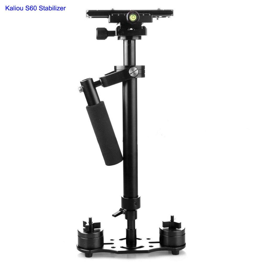 Kaliou S60 Camera Stabilizer 60CM Aluminum Steadicam Handheld Stabilizer for Gopro 6 5 4 3 2