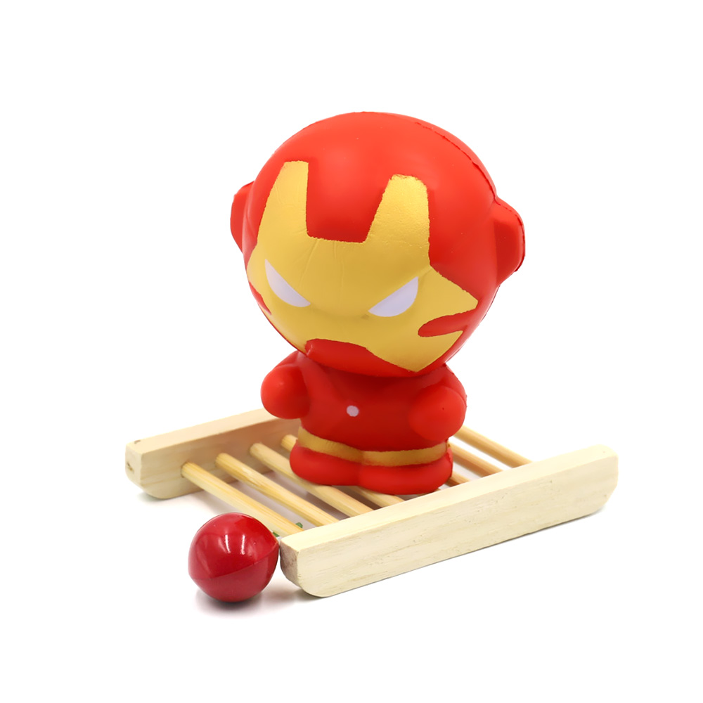 Super Hero Antistress Squeeze Toy Iron Man Jumbo Squeeze Toys Slow ...