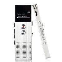 ONLENY 8G 16G Support 32G TF Card Professional Audio Recorder HD Dual Microphone Recording Digital Voice