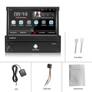 Image 5 - AMPrime 1din Autoradio Android wifi Car Multimedia di Navigazione GPS Autoradio Bluetooth Stereo Radio FM AUX USB Auto lettore Audio