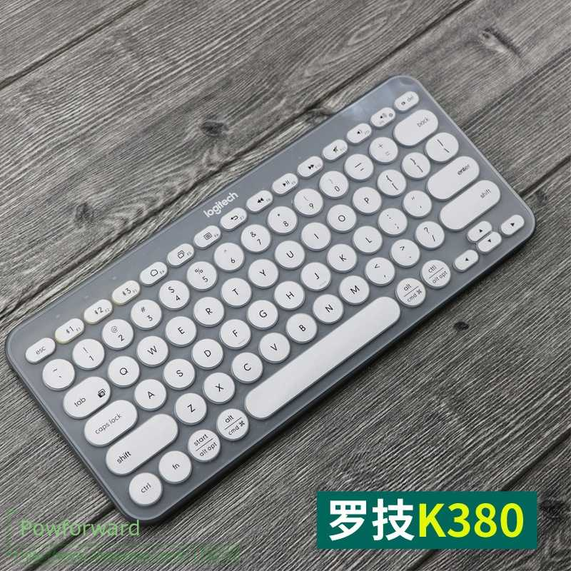 Keyboard Cover Protective Film Silicone Keyboard Mechanical Skin Protector For Logitech K380 K 380 Multi-Device Bluetooth