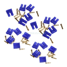 10 Sets EC2 2.0mm RC Lipo Battery Connector Gold Bullet Banana Plug Male&Female  #T026#