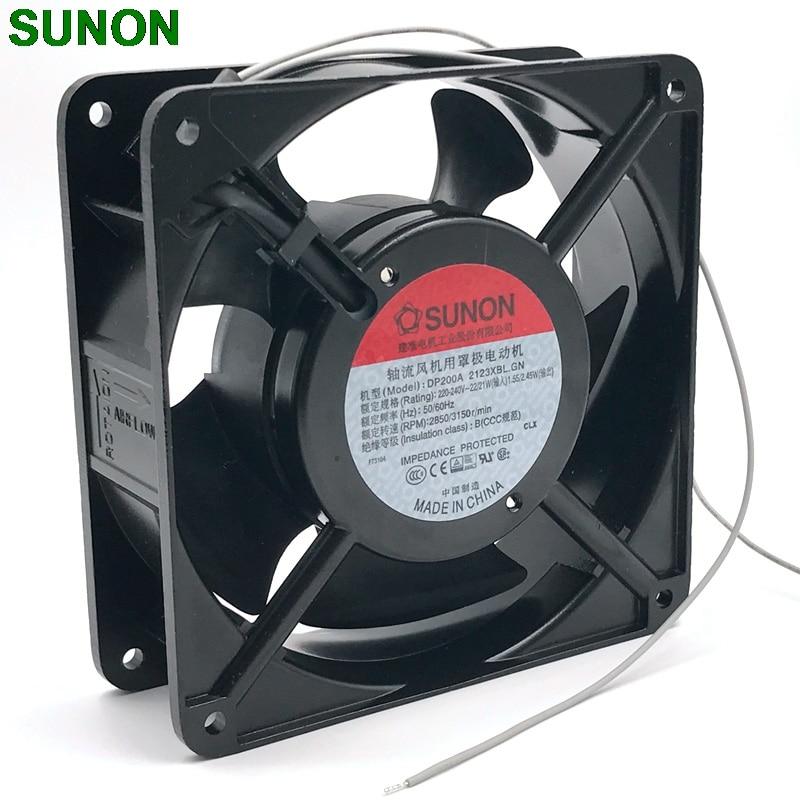 FOR SUNON original DP200A 2123XBTHST 220V 12038 Cooling fan