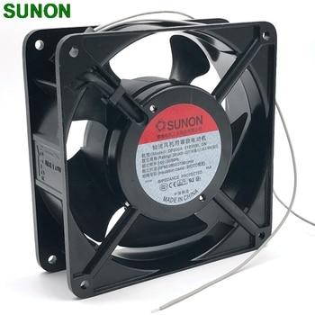 40PCS original New SUNON 12038 DP200A 2123XBL fan exhaust fan 220V 12CM 120*120*38MM 1238 12038 double ball kitchen cooling fan