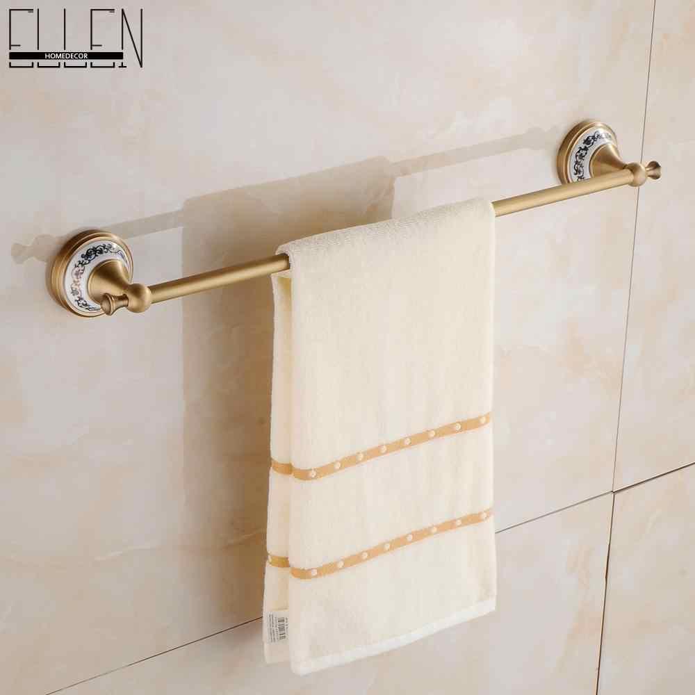 Antyczny brąz zestawy akcesoriów łazienkowych półka na ręczniki wieszak na ręczniki uchwyt na papier toaletowy papier uchwyt na papier Rove hak ceramiczne łazienka produkty EL3100