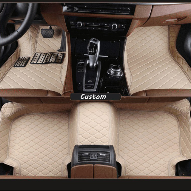 Car Floor Mats For Audi Q3 Car Mat Black Beige Gray Brown In Floor