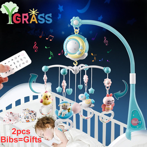 Baby Crib Mobiles Rattles Toys