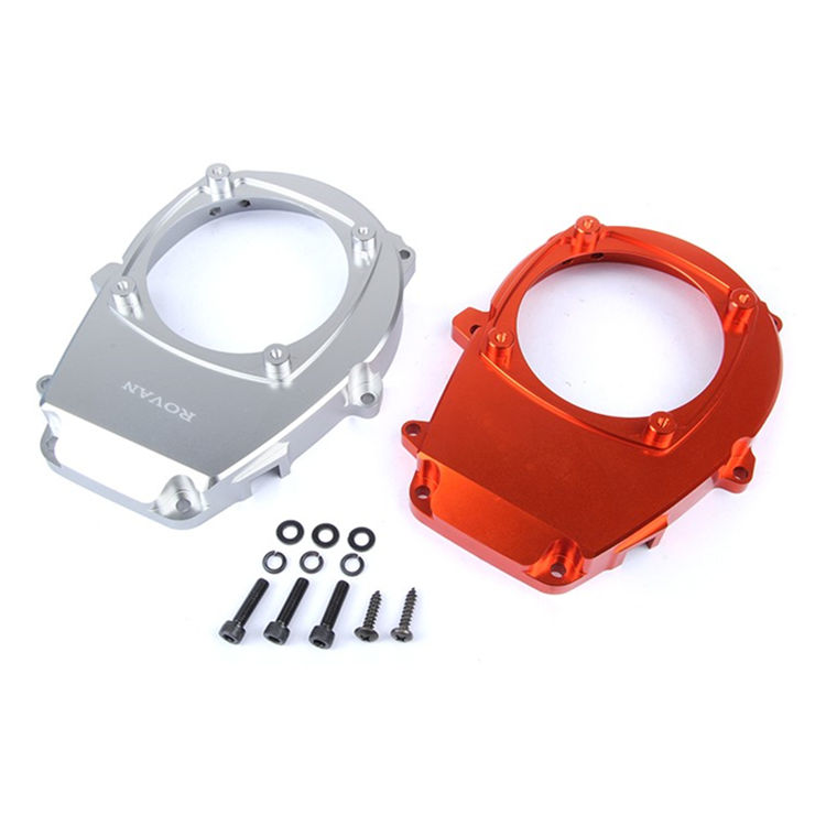 CNC Baja Alloy Engine Fan Cover for 26CC 29CC 30.5CC Zenoah CY engine 1/5 HPI KM Rovan Baja 5B 5T 5SC RC Car Parts exhaust pipe tuned pipe for 23cc 26cc 29cc 30 5cc engine for 1 5 hpi km rovan baja 5b 5t