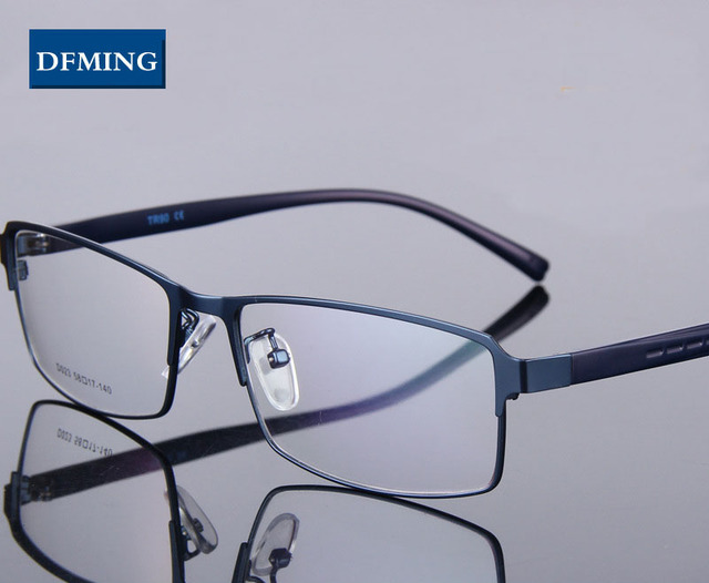 DFMING BIG size men Eyewear myopia glasses frame men spectacles ...