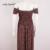 Fora Do Ombro Floral Impressão Mulheres Vestido de Verão de Cintura Alta Do Vintage Maxi Vestido vermelho Curto Casual e Elegante Praia Vestidos Longos Plus Size tamanho