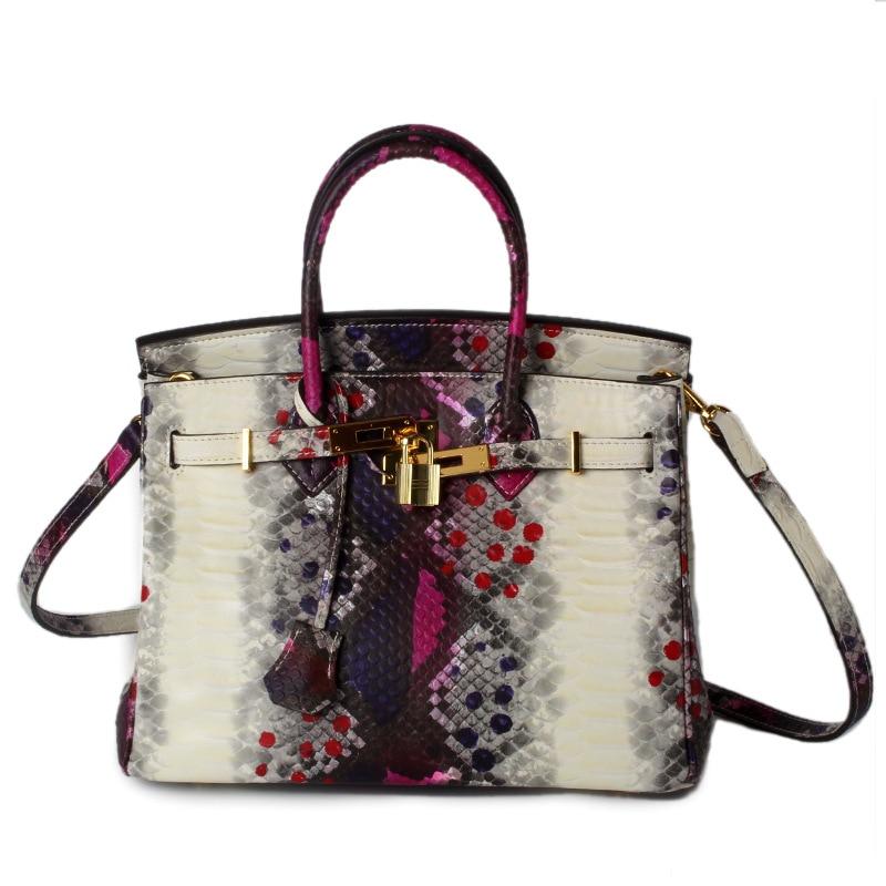 2016 New Designer Handbags High Quality Brand Women Genuine Leather Serpentine Handbag Tote Shoulder Bags Messenger Ladies Bag