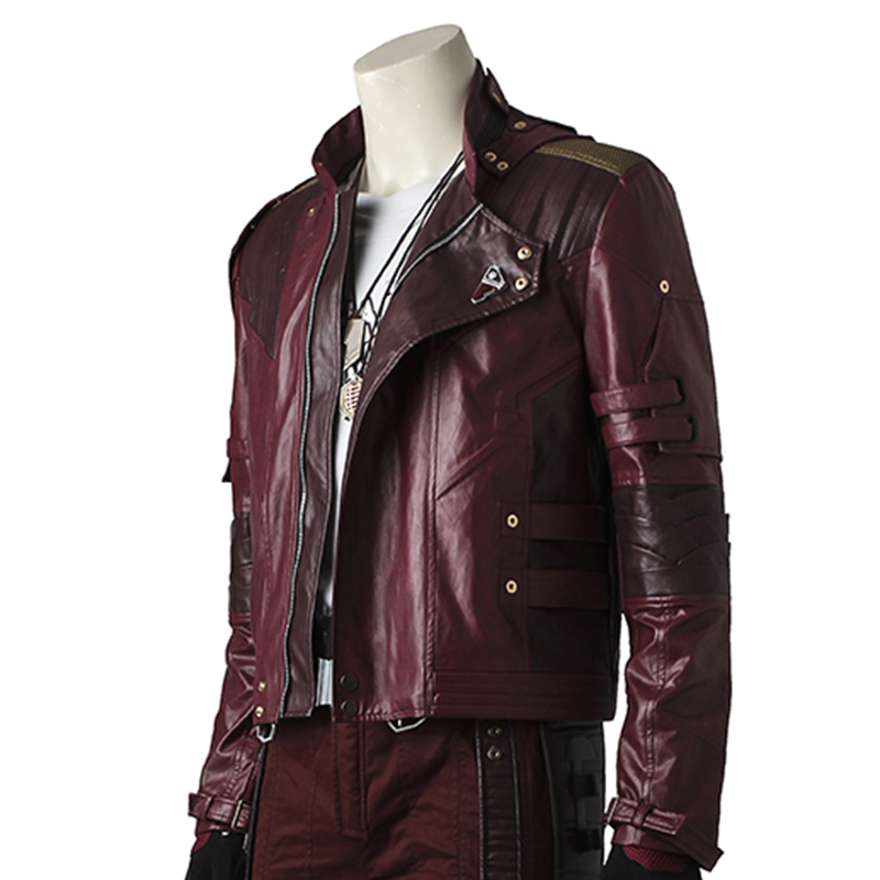 05f3da7e3 cosplay men Star Lord Cosplay Jacket Guardians of The Galaxy 2 Costume  Outfit Peter Quill Men Star Lord s Jacket Leather Outfit Custom Made