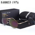 2016 mulheres polarizada óculos de sol da moda new proteção uv aviação feminin diamante óculos de sol do vintage com caixa original