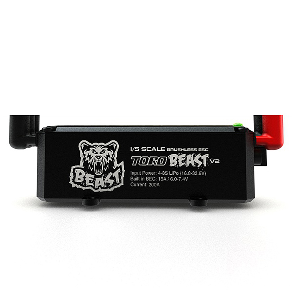 SKYRC TORO BEAST V2 200A Brushless ESC 8S Programmable Biult in BEC for 1 5 RC