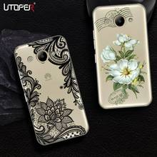 UTOPER Mandala Flower Phone Cases For Huawei Y3 Y5 Y6 2017 Case Silicone Cover For Huawei Y7 Prime Case For Huawei Enjoy 7 Plus