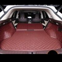 Lsrtw2017 волокна кожи багажник автомобиля коврик для lexus rx200t rx350 rx450h 2015 2016 2017 2018 2019 al20 f sport