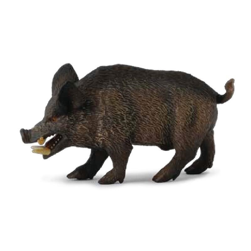 CollectA Brand Wild Boar Pig Classic Toys For Boys Children Gift animals Model collecta saurophaganax dinosaur model classic toys for boys 88678
