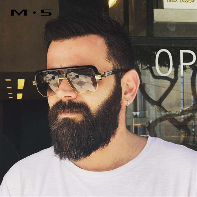 MS 2017 Fashion Sunglasses Men Sport Luxury Brand Designer Classic Sun glasses male trendy Glasses uv400 high quality