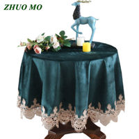 Europe Elegant Table Cloths Round square tablecloth Dinning Table Decoration Kitchen hotel Tablecloths Wedding decoration