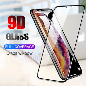 Image 1 - 2pcs/lot Full Cover Tempered Glass For iPhone X XS Max XR Screen Protector Anti Blue light Glass For iPhone X XS XR Glass Film