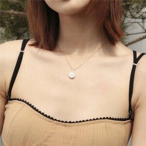 Image 4 - Barocke Perle Brief Halskette Weibliche Flut Tropfen Europäischen und Amerikanischen Erweiterte Sinn Französisch Revolutionäre Schlüsselbein