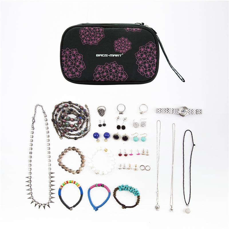 BAGSMART Kvinnor Smycken Påse Väska Rese Smycken Organizer Väska - Väskor för bagage och resor - Foto 5